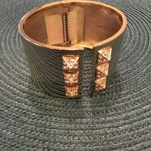 Victorias Secret gold cuff bracelet